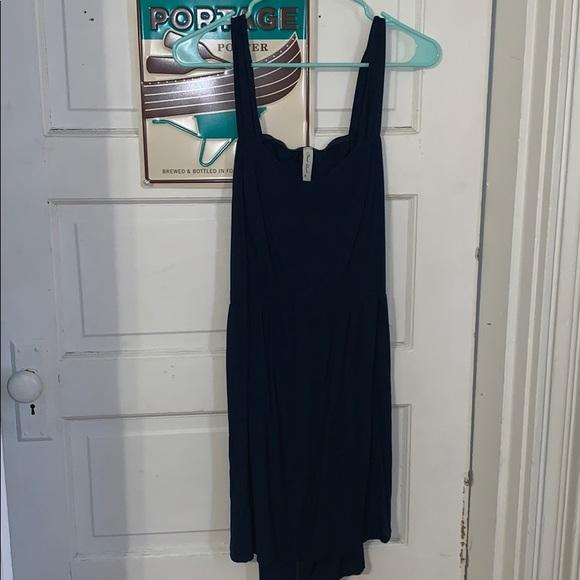Final Touch Dresses & Skirts - Navy Open Back Mini Dress